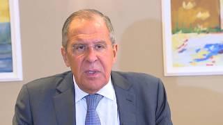 Интервью С.Лаврова для фильма «Актауский саммит: каспийская развязка»