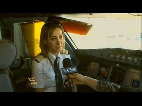 Rola Hteit Lebanon's only female pilot