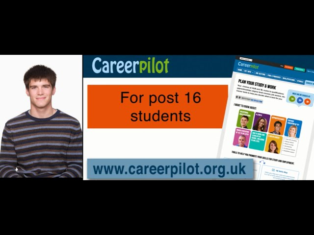 Planning for post 18 - how Careerpilot can help.