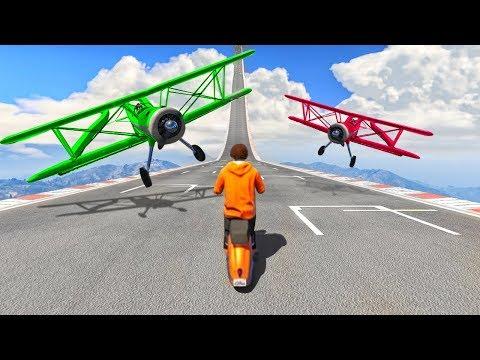 HARDEST PLANE ESCAPE SKILL TESTS EVER! - GTA 5 Funny Moments thumbnail