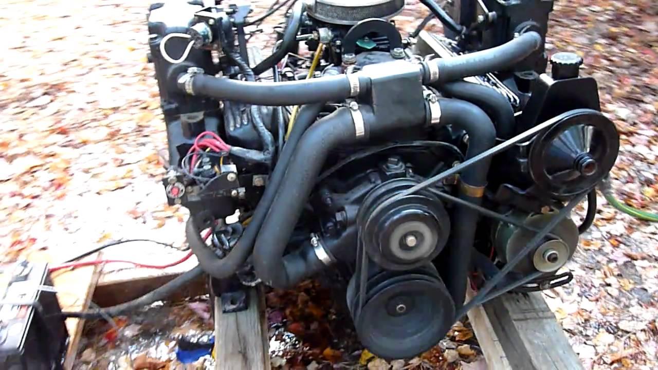 1989 Mercruiser 43 V6  YouTube