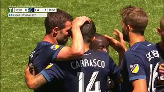 GOAL: Ema Boateng finds Chris Pontius to give Galaxy the lead