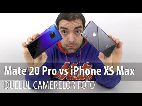 Huawei Mate 20 Pro versus iPhone XS Max, duelul camerelor foto (Compara葲ie)