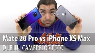Huawei Mate 20 Pro versus iPhone XS Max, duelul camerelor foto (Comparație)