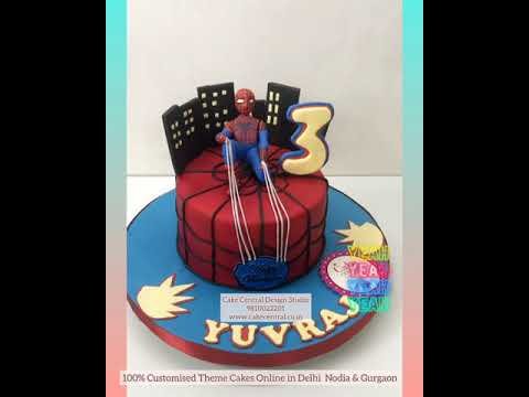 Spiderman Cake In Delhi Online