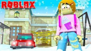 Roblox Bloxburg Snow Day - Pas d'école!