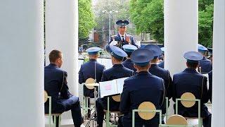 Военный оркестр В лесу прифронтовом