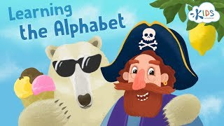 Learning the Alphabet from I to P   Kids Academy