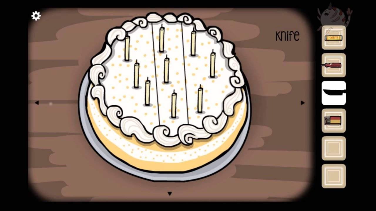 Cube Escape Birthday Cake