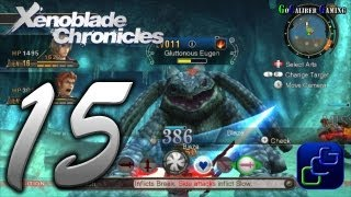Xenoblade Chronicles Walkthrough - Part 15 - Tephra Cave Quest