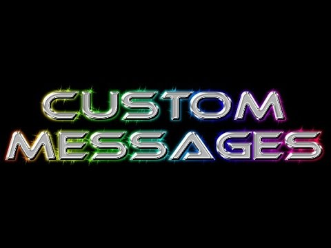 how to make custom kill messages