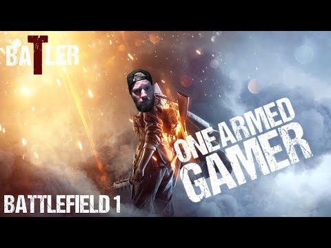One Armed Gamer | Battlefield 1 PS4 | 5 Exercises for Bigger Squads
