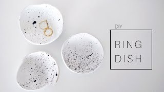 DIY Clay Ring Dish - Jewelry Holder | Minimal Room Decor 2018