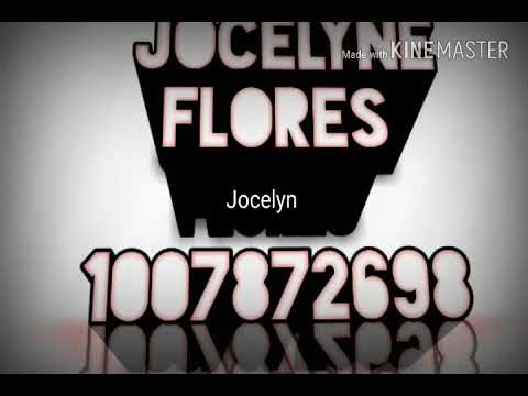 jocelyn flores code for roblox