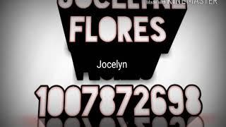 Jocelyn Flores Roblox Id Code