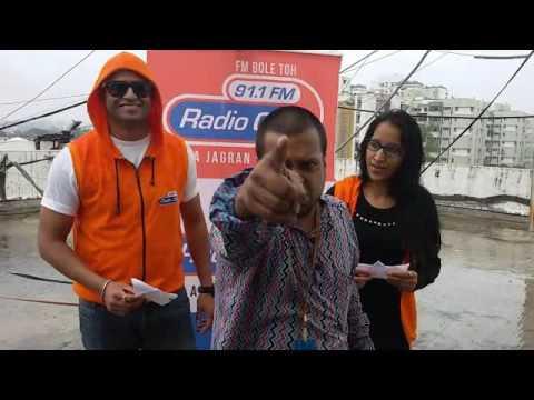 Radio City Pune RadiOlympics Rj  Shonali and Rj Kedar