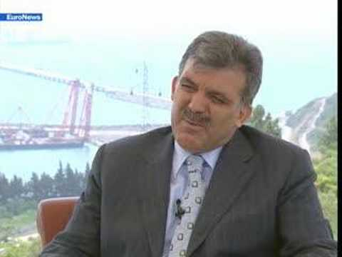 EuroNews - EN - Interview: Abdullah Gul