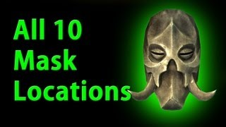All 10 Dragon Priest Mask Locations - Skyrim