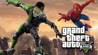 GREEN GOBLIN vs SPIDERMAN in GTA 5! Mod Gameplay!
