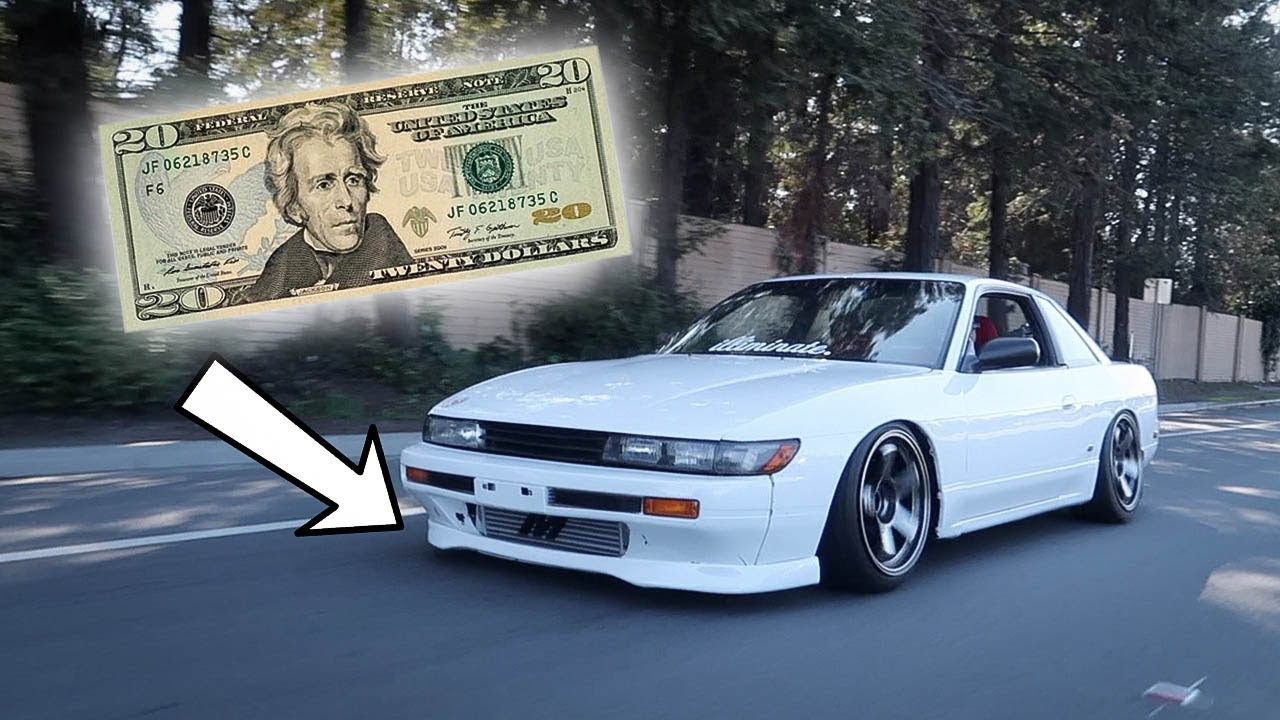 $20 Lip for the S13 Silvia! - YouTube