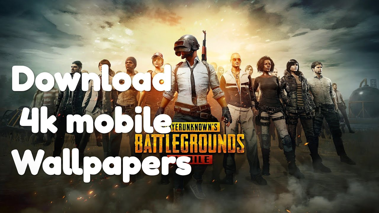 How To Download Pubg 4k Wallpapers For Mobile Youtube