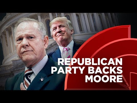 Donald Trump And The Republican Party Are Now Supporting Roy Moore