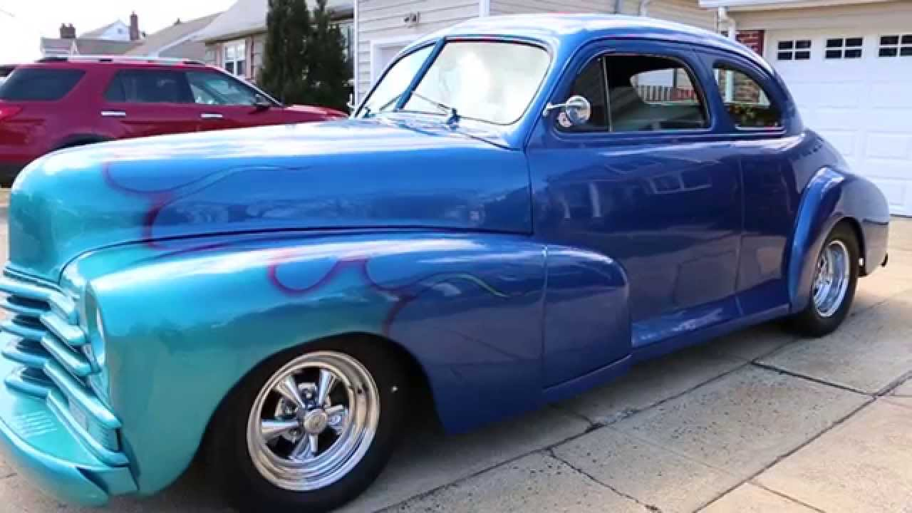 Coupe 1948 chevy stylemaster coupe for sale : 1947 Chevy Stylemaster Street Rod For Sale~Channeled~350/4 Speed ...