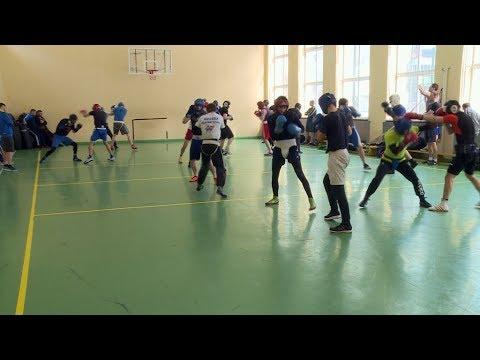 27.03.2018 Національна збірна України з боксу тренується у Коломиї