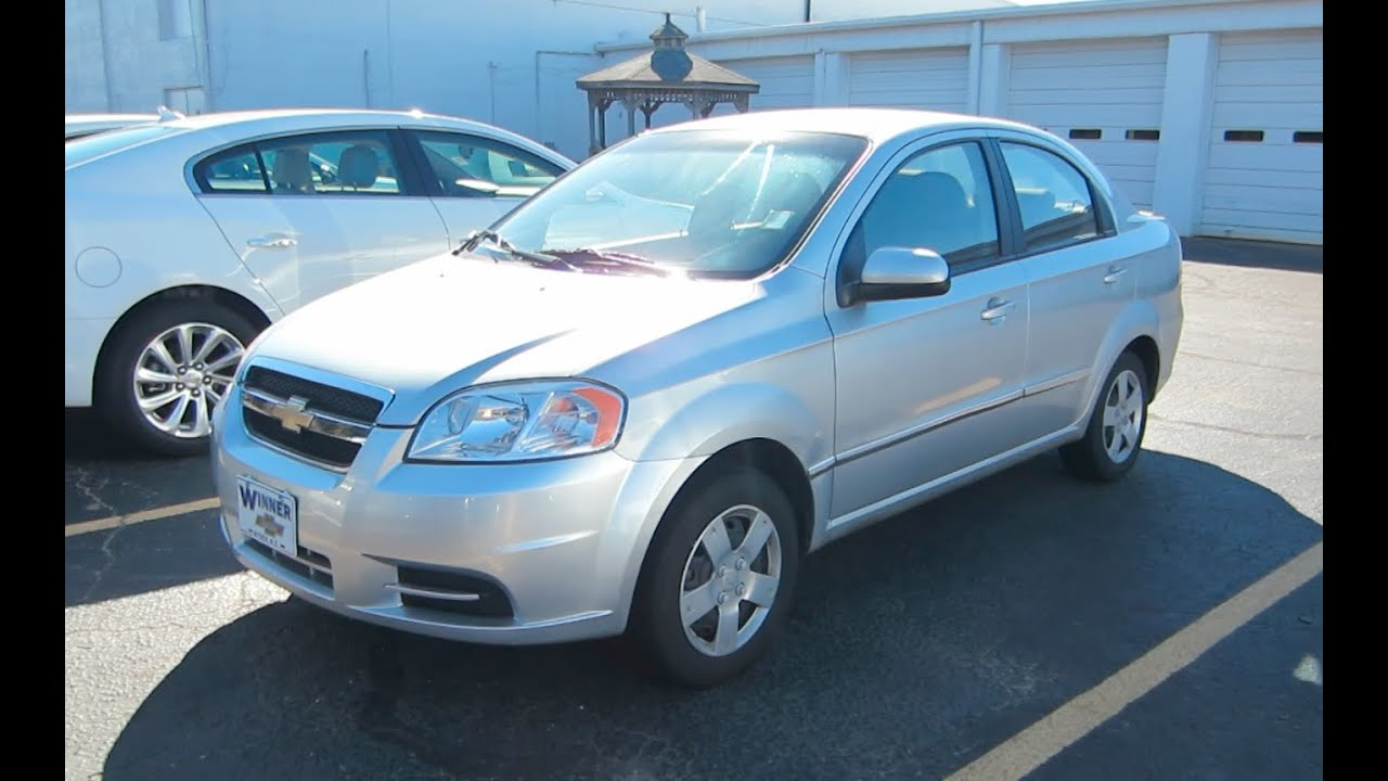 2011 Chevy Aveo Lt Tour Youtube