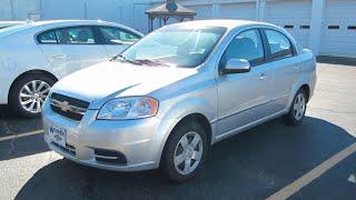 видео Chevrolet Aveo sedan