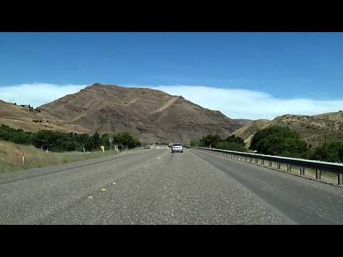 US 12: Pomeroy, Washington to Lewiston, Idaho Dashcam Time-Lapse