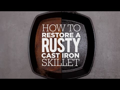 How to Season & Restore a Cast Iron Skillet