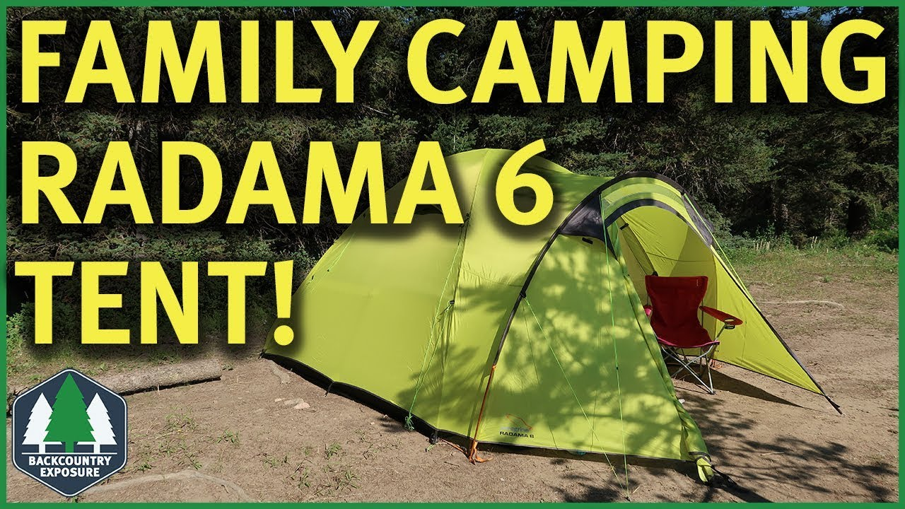 Peregrine Radama 6 Tent | Family C&ing Castle! & Peregrine Radama 6 Tent | Family Camping Castle! - YouTube