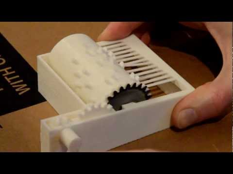 Fully 3D printed Music Box: Frère Jacques Song
