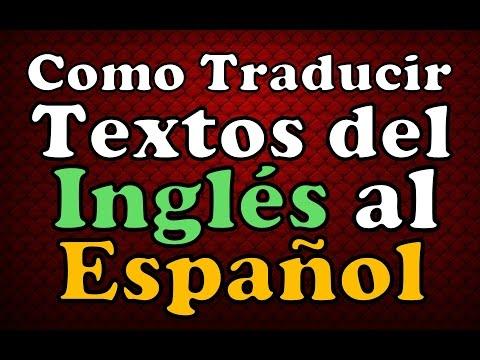 TRADUCTOR ONLINE DE GOOGLE Como Traducir Palabras Ingles Español Traduccion De Palabras