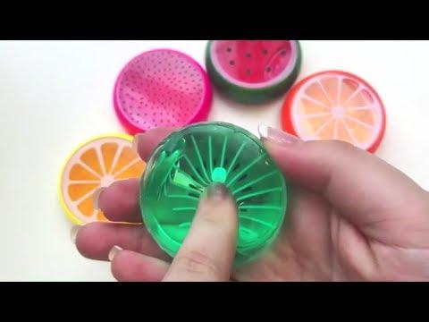 Most Satisfying Glossy Slime - DIY Glossy Slime Recipe - Satisfying Slime ASMR!!