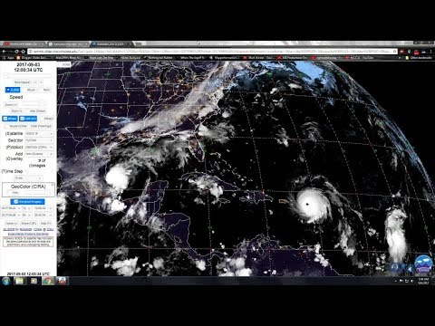 Irma's Track and Live Cams Wiped!