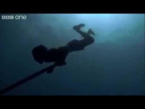 DENİZ'İN 30 Metre altında tüpsüz zıpkınla balık avı