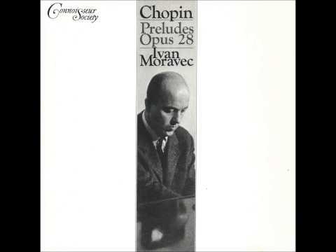 IVAN MORAVEC plays CHOPIN 24 Préludes Op.28 (1965)