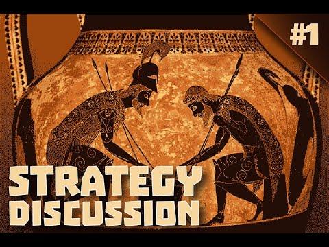Strategy discussion: A Total War Saga TROY Rineia |