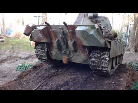 "1/6 Scale RC Tanks  ""King Tiger and Panther"""