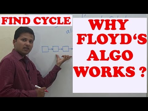 Why Floyd's cycle detection algorithm works? Detecting loop in a linked list.