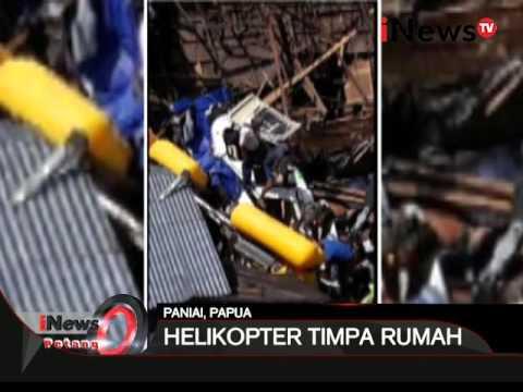 Kecelakaan helikopter di Paniai, Papua yang mendarat darurat menimpa rumah - iNews Petang 03/02