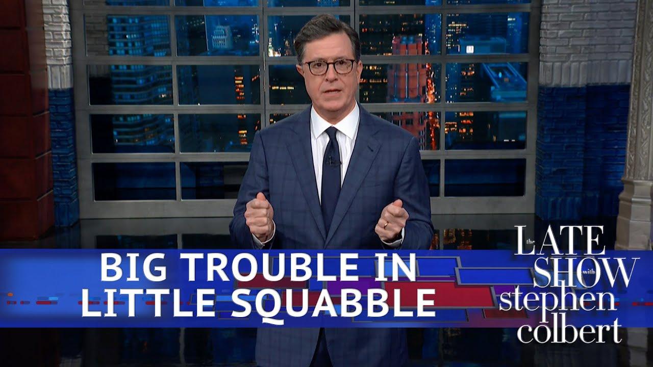 Trump Labels The Trade War A 'Little Squabble'