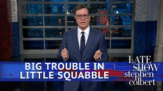 Trump Labels The Trade War A \'Little Squabble\'