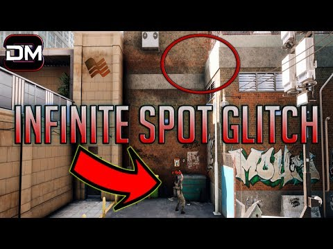INFINITE SPOT GLITCH | Rainbow Six Siege Valkyrie Blackeye Camera Glitch