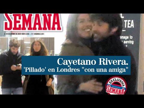 Las Fotos De La 'pillada' A Cayetano Rivera