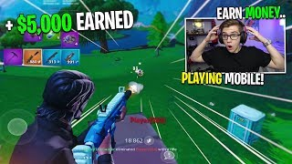 How YOU can Win MONEY playing Fortnite Mobile (mobile monday tournament)
