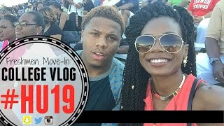 VLOG - Howard University Freshmen Move-In 2015