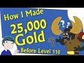 World of Warcraft - Make 25k Gold While Leveling - Gathering Profession Overview